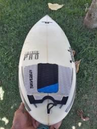 Prancha de surf, rabeta round 5'10