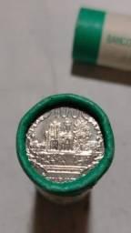 vendo rolinho de 40 moedas do paraguay fc 2007