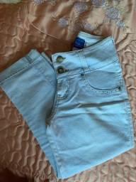 Calça capri Jeans 36 (seminova)