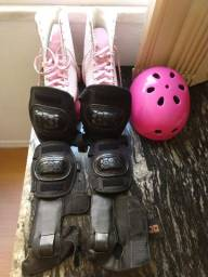 Kit completo de patins