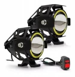 Farol Lanterna Recarregável Usb P/ Bike 180 Lúmens Mcqd001