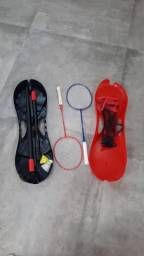 Rede de Badminton Portátil