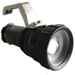 Lanterna Holofote Led Mão T6 Zoom 3 Baterias Ultra Potente