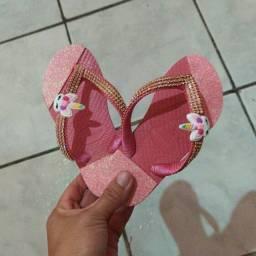 Sandália havaiana Customizada