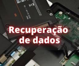 Recuperação de dados - HD -Pendrive