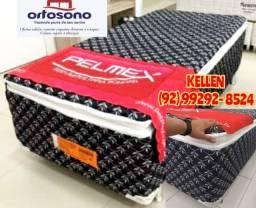 cama box solteiro com pillow top - entrega grátis 14