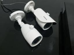 DVR e 2 Câmeras Intelbras