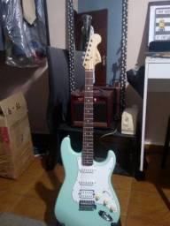 Squier (logo Fender) Stratocaster - Zerada