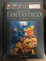 Graphic Novels Marvel Ed. 31 - Vol 48 Quarteto Fantástico - O Fim - Alan Davis