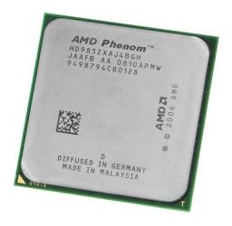Processador Phenom X4 9850 + Brindes (Placa mãe/memória/Hd)