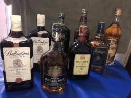 Whisky Legitimo Escocês(8 garrafas )
