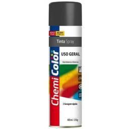 Spray T.Chemi preto fosco 400ml/250g
