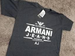 Camiseta Estilo Armani