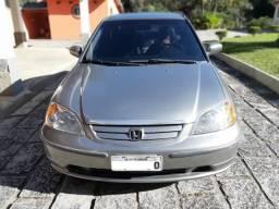 Civic 2002 automático Impecável pra vender rápido - 2002