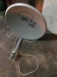 Antena Oi Tv - Bem Nova - Com lnb E Cabo
