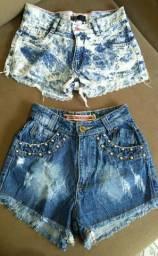 Shorts Jeans 2 por 10$