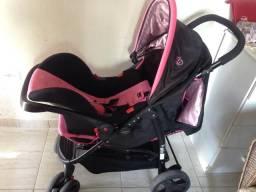 Carrinho de bebê + bebe conforto Cosco - Semi Novo !!!