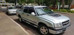 S10 executive diesel cab dupla 4x4 ótimo estado - 2006
