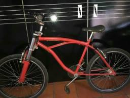 Uma Bicicleta de Adulto