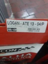 Calha de chuva Logan até 13 4 portas novo na embalagem