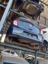 Sucata Nissan March 2014 1.6