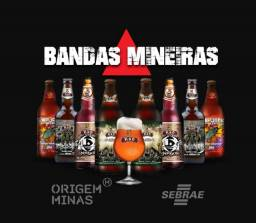 Kit Bandas Mineiras - 8 cervejas + Taça | Cervejaria Küd