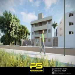 Apartamento com 2 dormitórios à venda, 54 m² por R$ 135.900 - Mangabeira - João Pessoa/PB