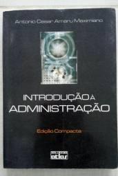 Introdução à administração. Autor Antônio Maximiano