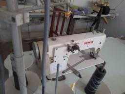 Máquina de reforço de gola Ombro-a-ombro ponto corrente 2 agulhas..