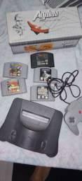 Nintendo 64 + 5 jogos
