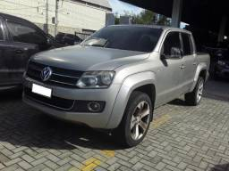 Volks. Amarok CD 4x4 Highline Manual, 2010/2011, Prata, Veículo Repasse - 2011