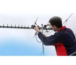Coletiva de antenas UHF - Instalação em todos os bairros