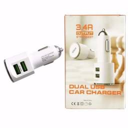 Carregador Veicular USB-(Loja Wiki)