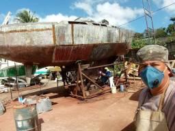 Reforma veleiros de aço