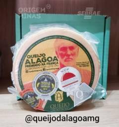 Queijo Alagoa Premiado na França - 1kg | Queijo d'Alagoa-MG