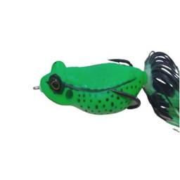 Isca Artificial Sapo Frog Anti Enrosco Para Traíra Traírão
