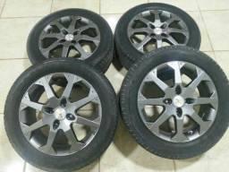 Rodao aro 16 205/55<br>4 pneus novos *você pode fazer o teste antes de comprar*