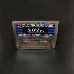 Fita Cartucho Flashcard Sd2snes Super Nintendo Atualizado
