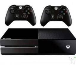 Xbox One Fat 500 GB + 2 Controle + 5 Jogos