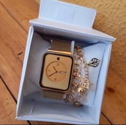 Relógio Apple - Kit com pulseira