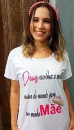Camisas Personalizada Dia das Mães