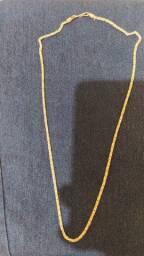 Cordão de prata trabalho indiano.