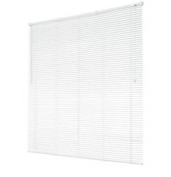 Persiana horizontal Evolux 140x130 branca na caixa