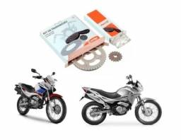 Promoção de Kit Transmissão Cofap Aço 1045 para a Honda NX 400 Falcon