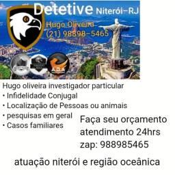 Detetive particular Hugo oliveira