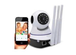 Câmera babá eletrônica - detector infra vermelho - som - sensor movimento