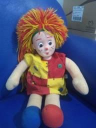 Boneca Emília (Sítio do Pica Pau Amarelo) estica e encolhe cabelo - Grow