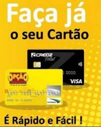 Crediario / Cartão Credz Visa Internacional / Cartão Fort Brasil