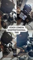 Máquina fotográfica e CARRINHO TÉRMICO
