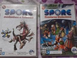 2 Jogos originais para PC
